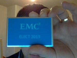 This is my EMC Elect card